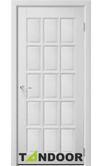 Купить двери АНГЛИЙСКАЯ РЕШЕТКА 15 Белый жемчуг в Симферополе