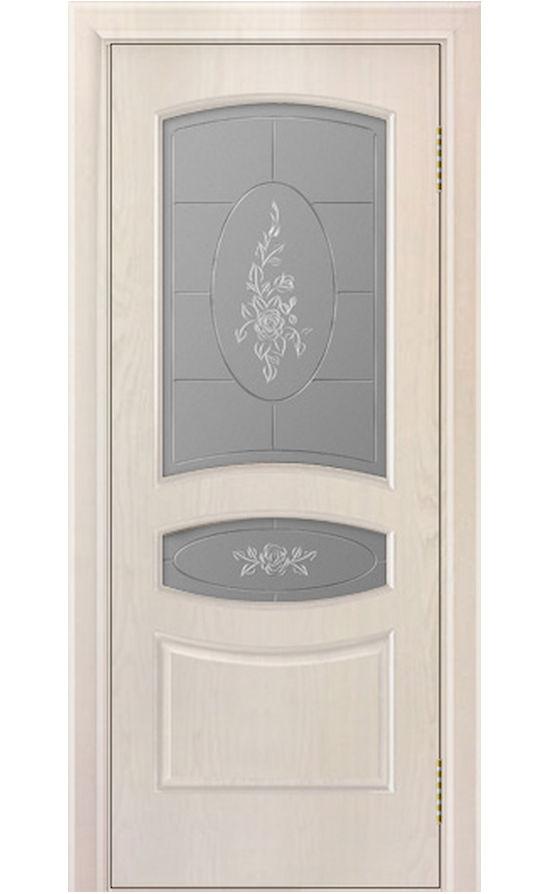Двери ЛайнДор - Алина Тон 27 жемчуг стекло