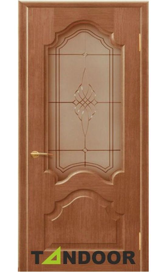 Купить двери Кардинал орех стекло в Симферополе