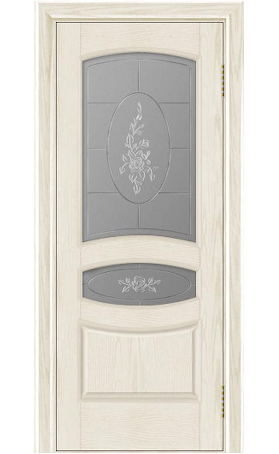 Двери ЛайнДор - Алина Тон 34 Сливки стекло