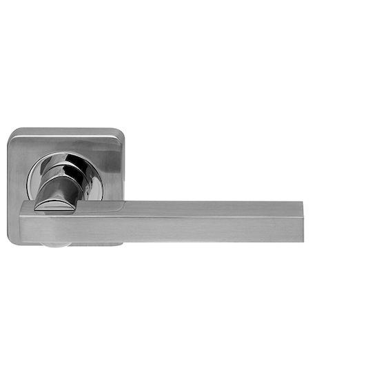 Дверная ручка Armadillo ORBIS SQ004-21SN-CP-3 Мат никель/хром в Симферополе.