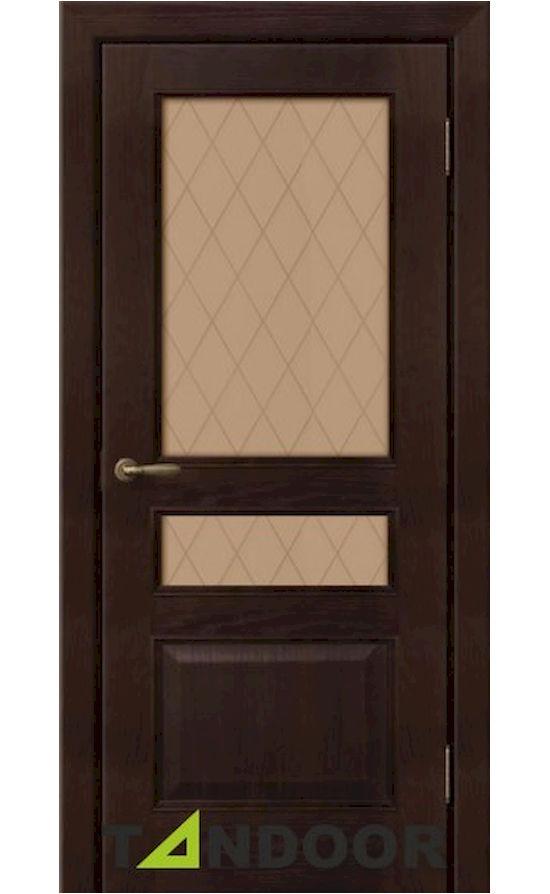 Купить двери Калина Шоколад стекло в Симферополе