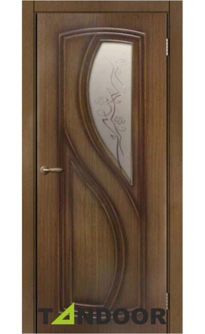 Купить двери Леди Орех стекло в Симферополе