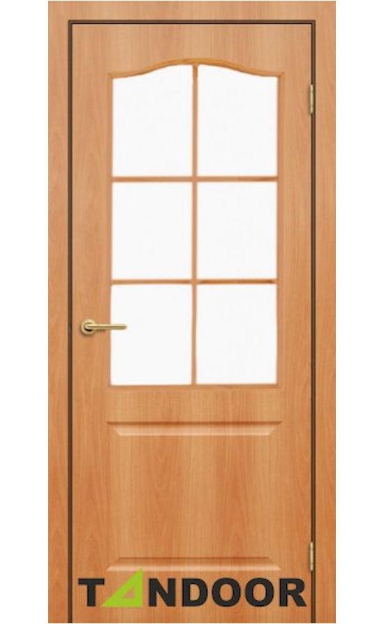 Купить двери Классик миланский орех стекло в Симферополе
