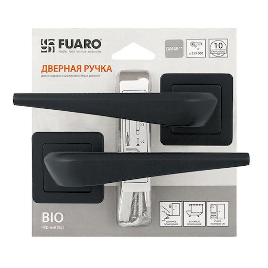 Дверная ручка Fuaro BIO XM-HD BL-24 черный в Симферополе.