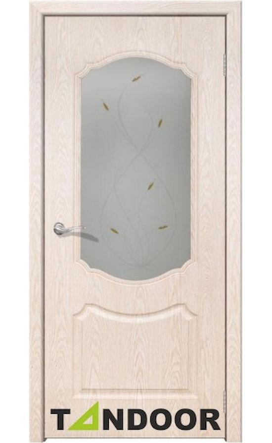 Купить двери Мечта беленый дуб стекло в Симферополе