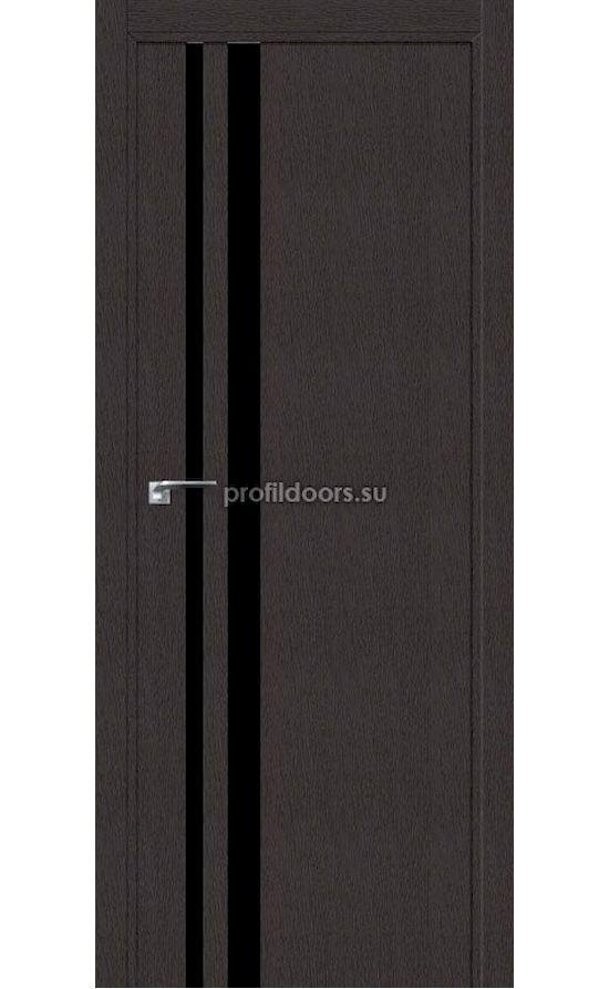Двери Профильдорс, модель 16ZN дарк браун черный лак (серия ZN ABS) в Крыму