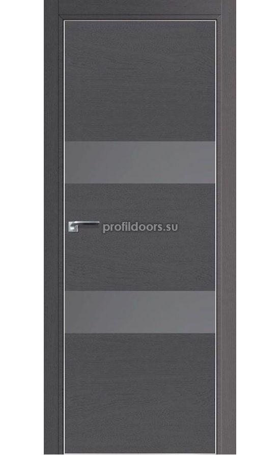 Двери Профильдорс, модель 34ZN грувд, серебрянный лак (серия ZN MAT) в Крыму