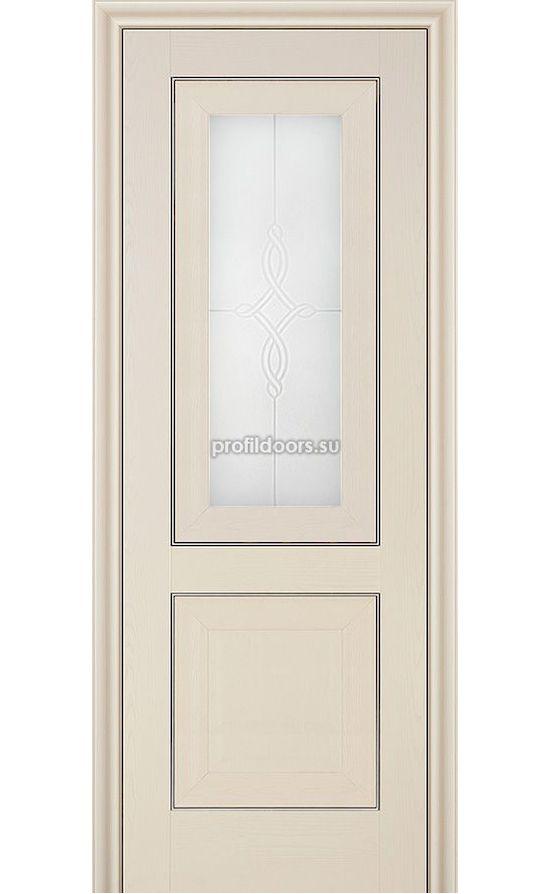 Двери Профильдорс, модель 28Х Эш вайт, узор 3 (х классика) в Крыму
