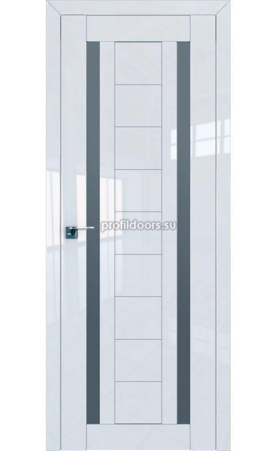 Двери Профильдорс, модель 15L белый глянец графит (Серия L) в Крыму