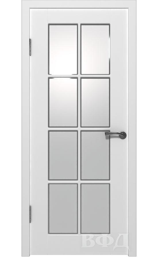 Двери от ВФД - Порта эмаль белая стекло (зимняя коллекция) в Симферополе.