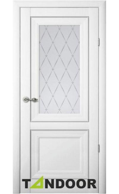 Купить двери Прадо Белый стекло в Симферополе