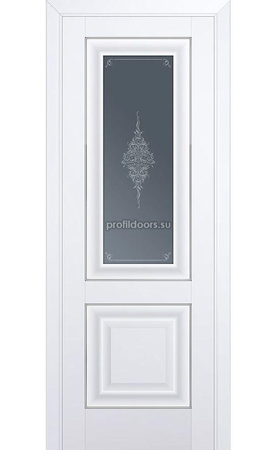 Двери Профильдорс, модель 28U аляска  кристалл графит (U классика) в Крыму