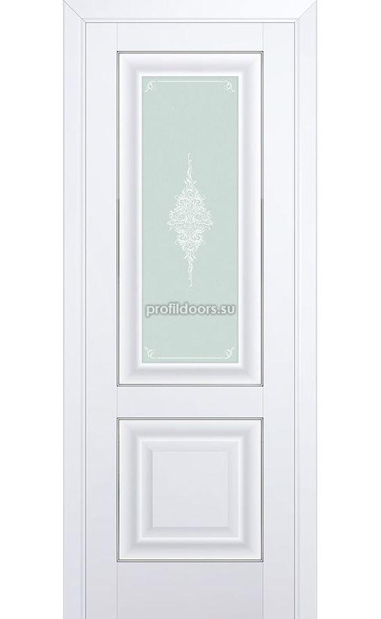 Двери Профильдорс, модель 28U аляска  кристалл (U классика) в Крыму