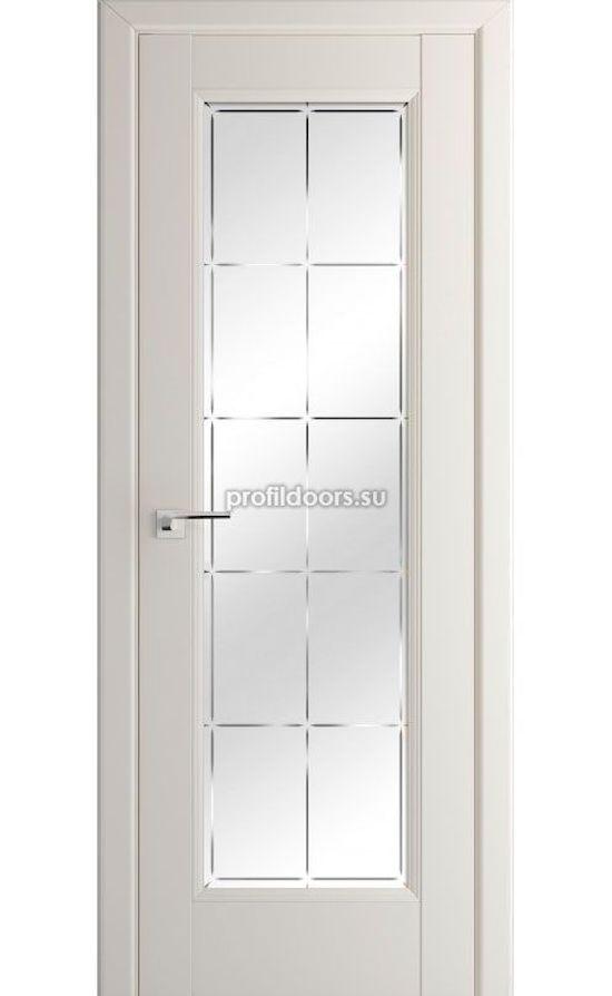 Двери Профильдорс, модель 92U магнолия сатинат гравировка (U классика) в Крыму