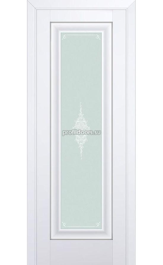 Двери Профильдорс, модель 24U аляска кристалл матовое (U классика) в Крыму