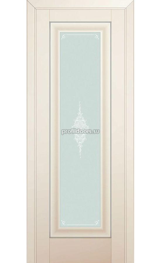 Двери Профильдорс, модель 24U магнолия сатинат кристал (U классика) в Крыму