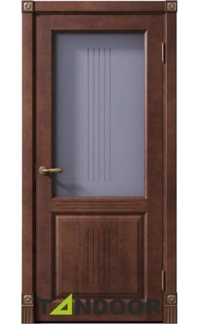 Купить двери Рузвельт бреннерский орех стекло в Симферополе