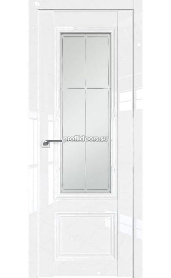 Двери Профильдорс, модель 2.103L белый люкс гравировка 1 (Серия L) в Крыму