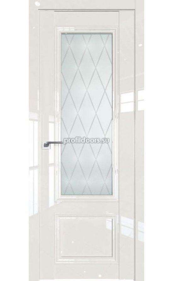 Двери Профильдорс, модель 2.103L магнолия люкс стекло r (Серия L) в Крыму