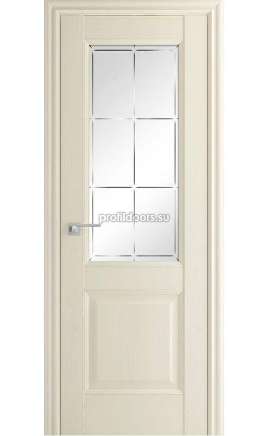 Двери Профильдорс, модель 90Х Эш вайт, гравировка 1 (х классика) в Крыму