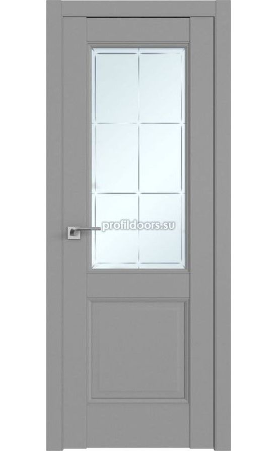 Двери Профильдорс, модель 90U манхеттен гравировка 1 (U классика) в Крыму