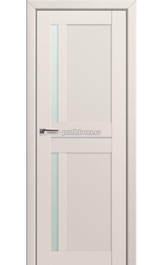 Двери Профильдорс, модель 19u магнолия сатинат мателюкс (U модерн) в Крыму