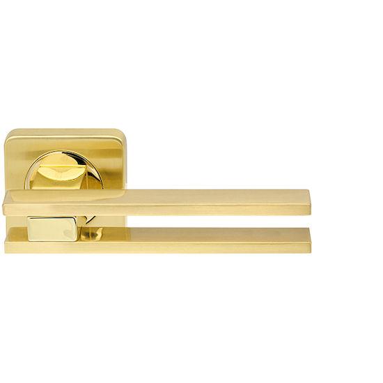 Дверная ручка Armadillo BRISTOL SQ006-21SG-GP-4 матовое золото/золото в Симферополе.