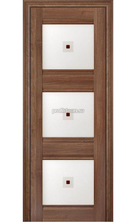 Двери Профильдорс, модель 4Х Орех сиена, узор 1 (х классика) в Крыму