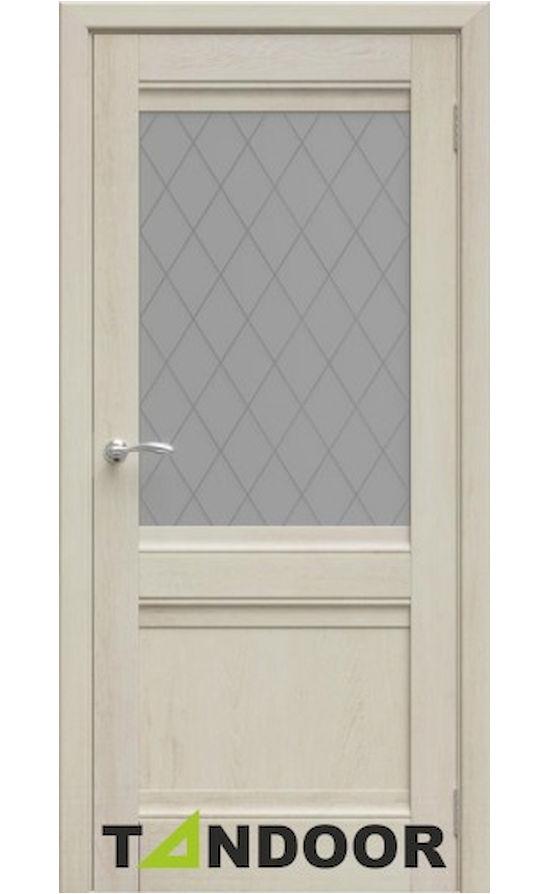 Купить двери Юта Филадельфия крем стекло в Симферополе
