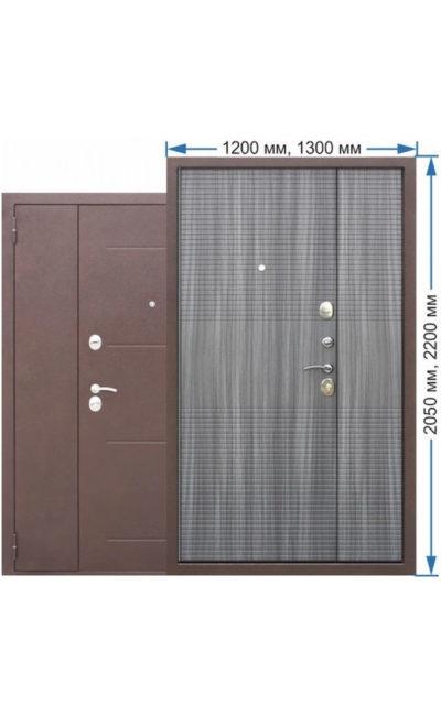 Входная дверь 7,5 Гарда (полуторка) в Симферополе.