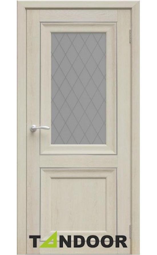 Купить двери Ева Филадельфия крем стекло в Симферополе