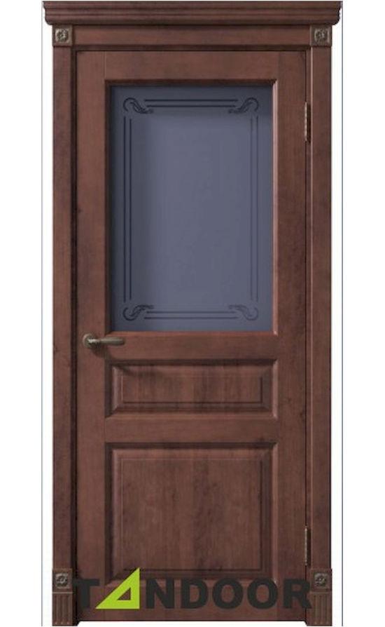 Купить двери Черчилль бреннерский орех стекло в Симферополе