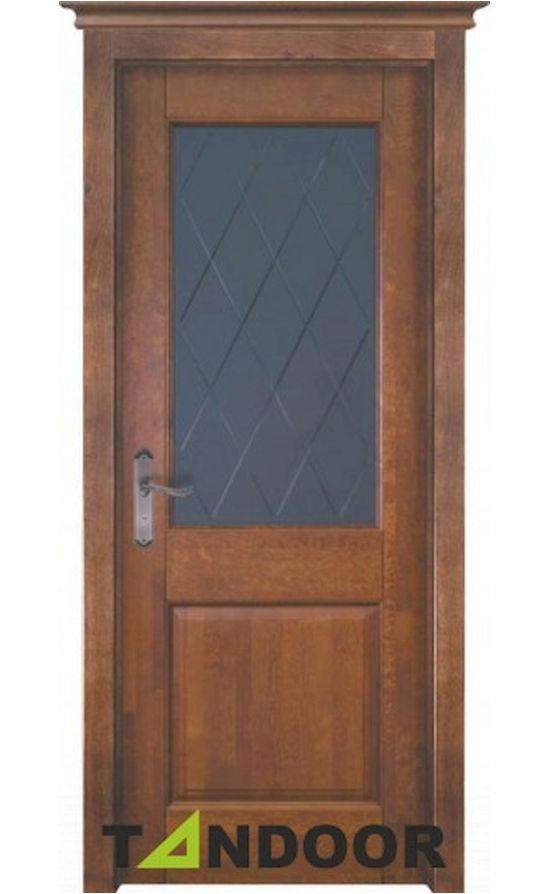 Купить двери Элегия-2 античный орех стекло в Симферополе