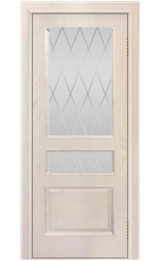 Двери ЛайнДор - Калина Тон 27 Жемчуг стекло