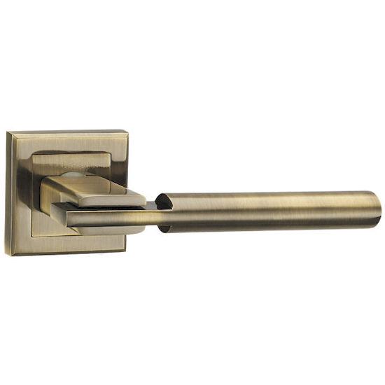 Ручка дверная Punto CITY QL ABG-6 зеленая бронза в Симферополе