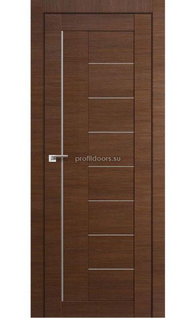 Двери Профильдорс, модель 17Х малага черри кроскут, мателюкс (X Модерн) в Крыму