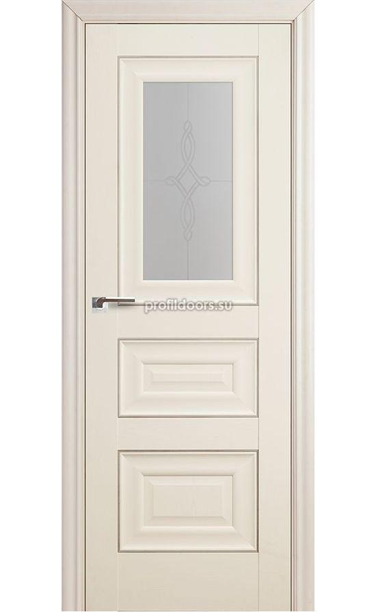 Двери Профильдорс, модель 26Х Эш вайт, узор 3 (х классика) в Крыму