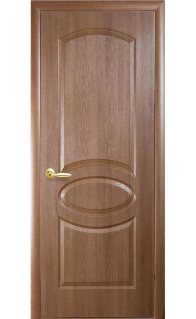 Купить двери Овал ДГ (золотая ольха) в Симферополе