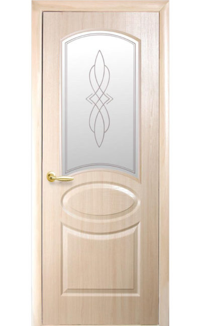 Купить двери Овал ДО (ясень) в Симферополе