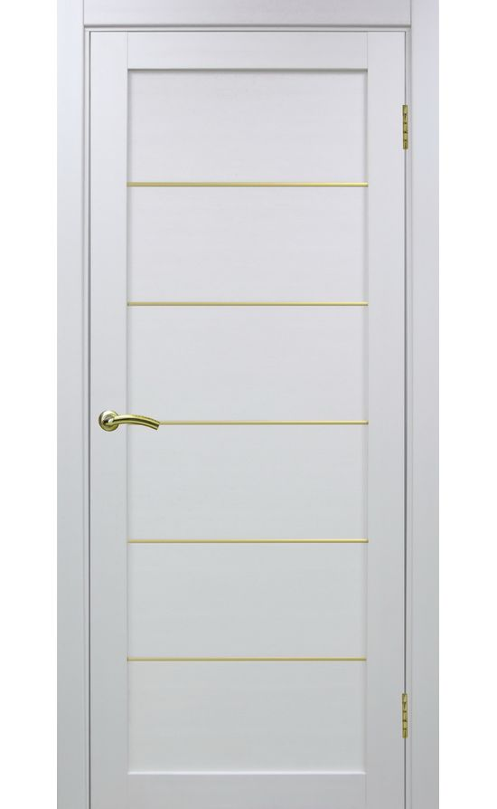 Дверь Оптима Порте - Турин 501 АПП Молдинг SG (белый) в Симферополе