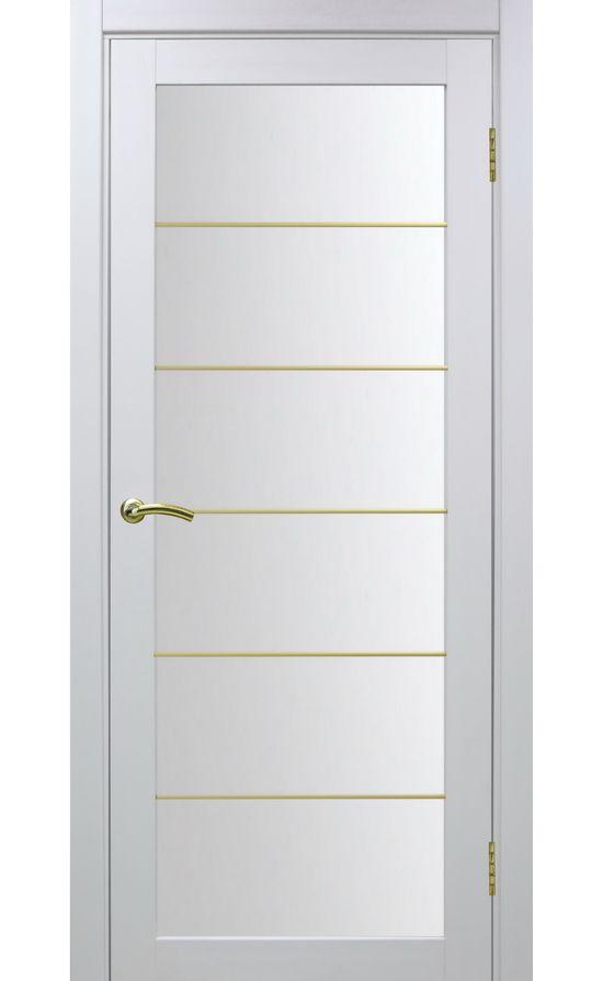 Дверь Оптима Порте - Турин 501 АСС Молдинг SG (белый) в Симферополе