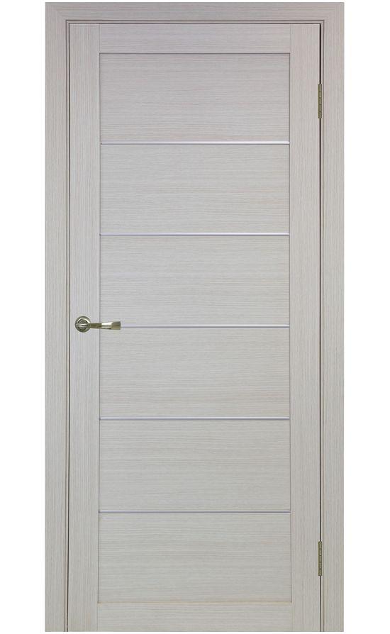 Дверь Оптима Порте - Турин 501 АПП Молдинг SC (дуб беленый) в Симферополе