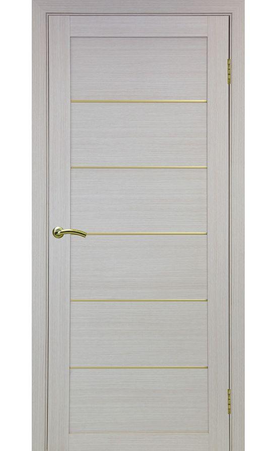 Дверь Оптима Порте - Турин 501 АПП Молдинг SG (дуб беленый) в Симферополе