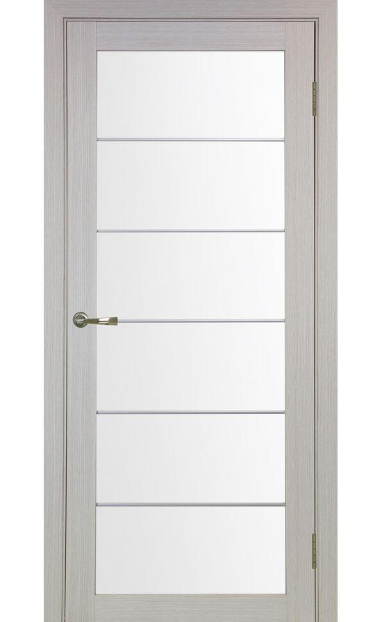Дверь Оптима Порте - Турин 501 АСС Молдинг SC (дуб беленый) в Симферополе