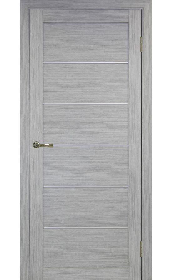 Дверь Оптима Порте - Турин 501 АПП Молдинг SC (дуб серый) в Симферополе