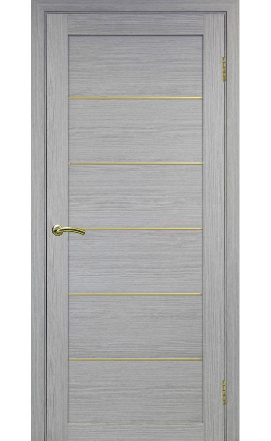 Дверь Оптима Порте - Турин 501 АПП Молдинг SG (дуб серый) в Симферополе