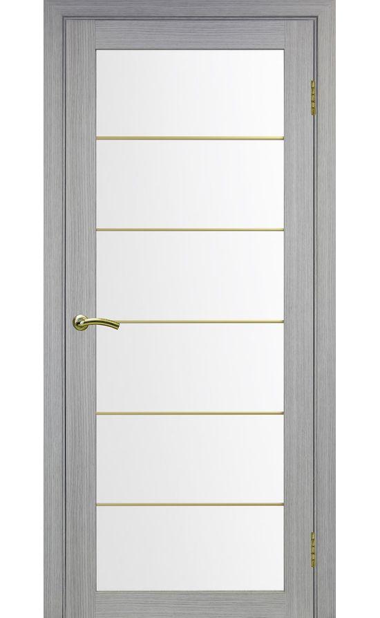 Дверь Оптима Порте - Турин 501 АСС Молдинг SG (дуб серый) в Симферополе