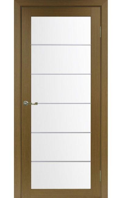 Дверь Оптима Порте - Турин 501 АСС Молдинг SC (орех) в Симферополе