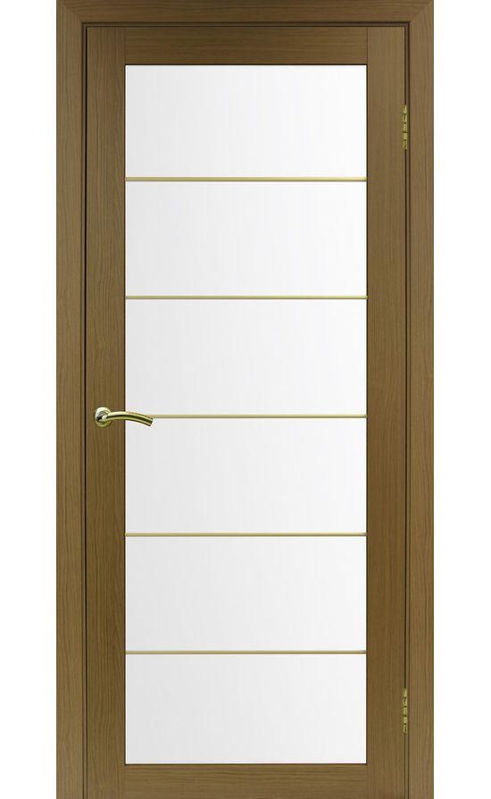 Дверь Оптима Порте - Турин 501 АСС Молдинг SG (орех) в Симферополе
